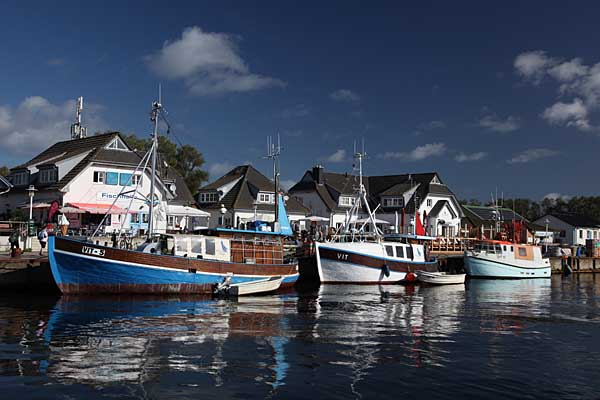 Hiddensee - Hafen Vitte